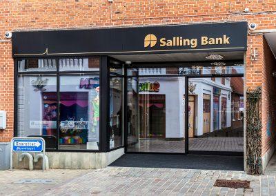 Renovering af Salling Bank