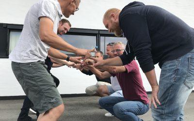 12.6.2018 ARBEJDSMILJØDAG HOS BYGGEFIRMAET KNUDSGAARD