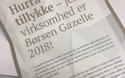 BYGGEFIRMAET KNUDSGAARD ER BLEVET KÅRET SOM BØRSEN GAZELLE 2018